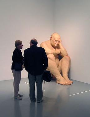 big naked man