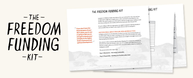 Inside the Freedom Funding Kit