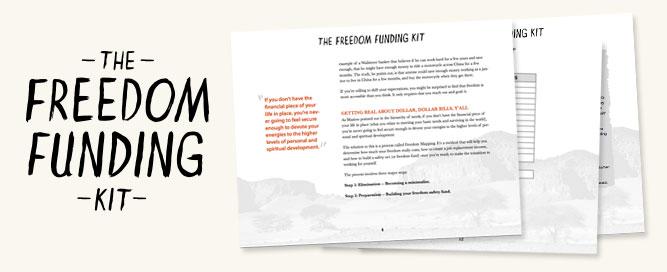 Inside the Freedom Funding Kit