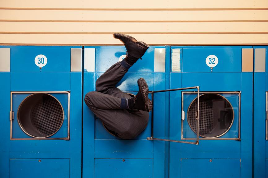 Man in Washer - Adobe RGB
