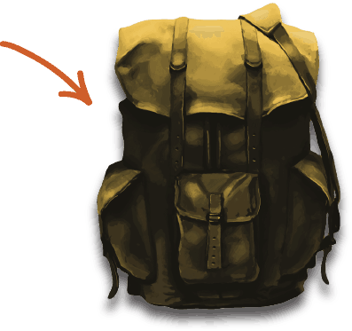 Paid to Exist's Escape Backpack